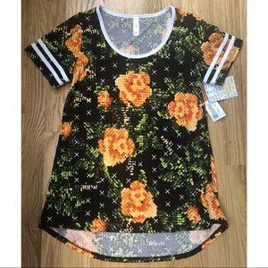 LuLaRoe Classic T Pixel Floral Size XXS